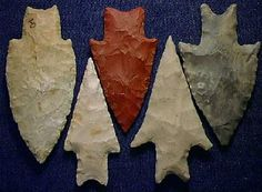 Ted's Indian Arrowheads and Artifacts from Comanche County, Texas
