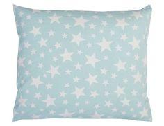 Sternenübersähtes, wunderschönes Dekokissen von KRS-Design in mint  - passend für Ihr Kinderzimmer oder Wohnzimmer.