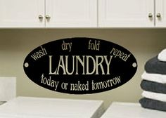 Laundry  Laundry room decor  Laundry Seal Wash by WildEyesSigns, $26.00