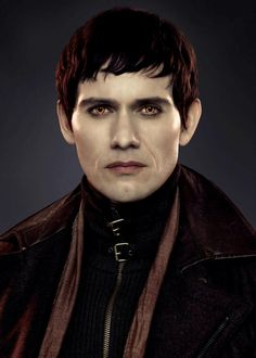 "Eleazar is a member of the Denali Coven. He was originally a guard of the Volturi until he and Carmen joined the Denali Coven many years after it was established. Eleazar is a ""vegetarian"", although he wasn't always one. Edward said that if they had never found the Denali Coven, both Carmen and Eleazar would have found another compassionate way to live, one way or the other."