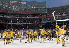 2010 winter classic: Boston Bruins beat Philadelphia Flyers 2-1 at Fenway Park