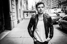 Sebastian Stan, for New York Moves, by Seth Howard.