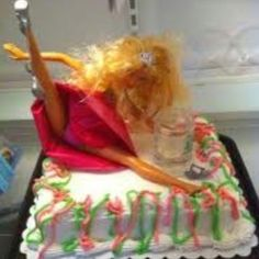 I want a hello kitty cake with that Barbie on top haha! I can't wait for my 21st :)