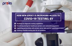 New Jersey is making COVID-19 testing accessible to all residents with the help of institutions, private labs, and the government. As a COVID-19 testing lab, you will need to manage specimens and data properly. Prolis LIMS will support your lab functions effectively at these critical times. Try a free trial:     #Prolis #LIMS #NewJersey #testingcenter Laboratory Information Management System, Health Organizations, Medical Science, Private Sector, Microbiology, Custom Labels, Labs, Vulnerability, New Jersey