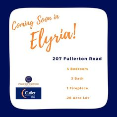 Coming soon in Elyria! #chasegroup #cutlerhomes #forsale