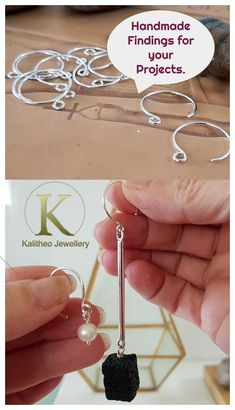 Offering the service of customisation on our Handmade Jewellery Findings to your specification to meet your needs. Silver Jewellery, Beaded Jewelry, Handmade Jewelry Findings, Jewellery Supplies, Mass Market, Beading Tutorials, Wire Work, Designer Earrings, Shopping Mall