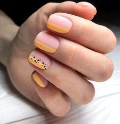 Gel Uv Nails, Acrylic Nails, Minimalist Nails, Yellow Nails, Purple Nails, Cute Nails, Pretty Nails, Nagellack Design, Short Nails Art