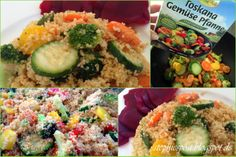 Stephies BlogPost: Wokpfanne Gemüse mit Couscous - 10 Minuten in der Küche, toller Geschmack!