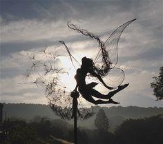 Fantasy Wire Fairies Sculptureshttps://www.facebook.com/Fantasywire