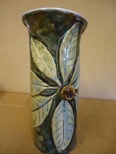 hand-built Magnolia vase - Michael MacDonald