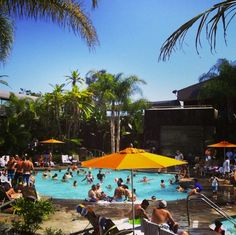 During summer in #SanDiego, pool time is all the time!