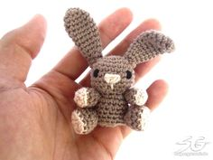 Mesmerizing Crochet an Amigurumi Rabbit Ideas. Lovely Crochet an Amigurumi Rabbit Ideas. Crochet Animal Amigurumi, Crochet Bear, Amigurumi Doll, Crochet Animals, Crochet Dolls, Crochet Bunny Pattern, Crochet Rabbit, Crochet Motif, Free Crochet