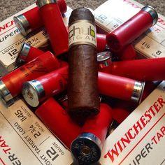CigarsandGuns — by @steve_behike #cigarsandguns #cigars #guns...