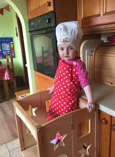 Raising Children To New Heights With The Guidecraft Kitchen Helper - RachelSwirl