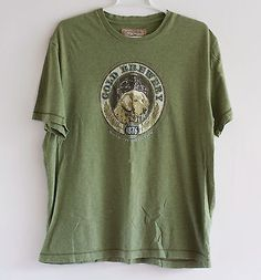 Gheass-Earth-Vintage-Style-T-Shirt-Mens-Large-100-Cotton-Very-Soft