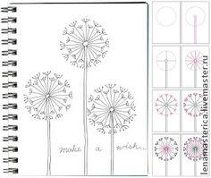 Zentangle & Doodling / Зентангл и Дудлинг. Поэтапное рисование - Ярмарка Мастеров - ручная работа, handmade