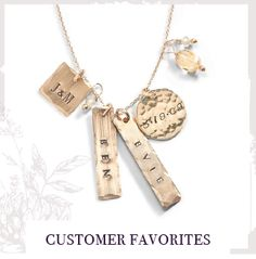 a298e383035e Custom Classic Hand Stamped Necklaces. Mom JewelryI Love JewelryUnique  JewelryHandmade JewelryJeweleryThree Sisters ...