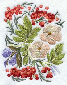 russian folk embroidery #@Af's 20/4/13