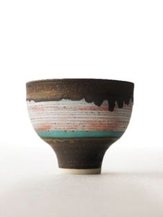 To know more about Lucie Rie bowl, visit Sumally, a social network that gathers together all the wanted things in the world! Featuring over 50 other Lucie Rie items too! Ceramic Design, Ceramic Decor, Ceramic Clay, Ceramic Bowls, Pottery Bowls, Ceramic Pottery, Pottery Art, Earthenware, Stoneware