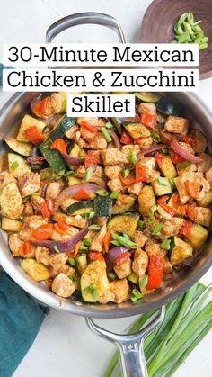 Paleo Recipes, Mexican Food Recipes, Low Carb Recipes, Dinner Recipes, Skillet Recipes, Skillet Meals, Free Recipes, One Pot Meals, Easy Meals
