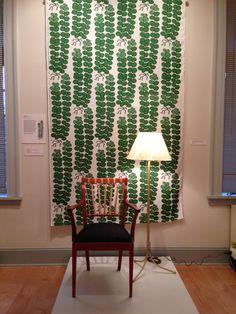 Joseph Frank exhibition at the American Swedish Historical Museum in Philadelphia