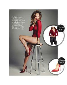 Jennifer Lopez photoshoot for Marie Claire Magazine #charlotterusse #christianlouboutin  #jenniferlopez @dejamoda