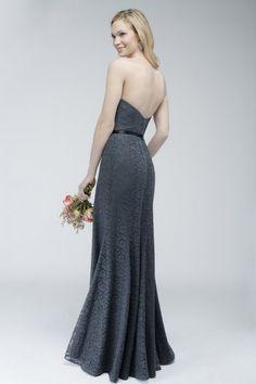 794 strapless lace dress