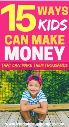 how to earn money for kids fast at home