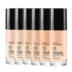 Fresh Nude Foundation | The Body Shop®