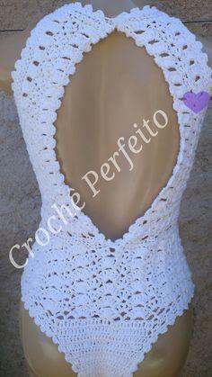 Body/ Maiô de Crochê  Faço nos tamanhos PP 36 P 38-40 M 42 G 44 GG 46  Você pode escolher outra cor, informe a cor e tamanho escolhidos no campo observação no pedido