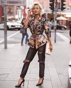 Street Style Look Collection From Micah Gianneli