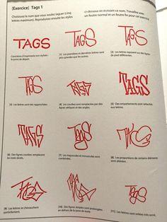 Tutoriel Graffiti/ Street Art : Comment faire un tag ? exercices/conseils - Slave 2.0 Graffiti Lettering Alphabet, Graffiti Writing, Graffiti Tagging, Street Art Graffiti, Tag Street Art, Graffiti Artists, Graffiti Designs, Graffiti Styles, Kritzelei Tattoo