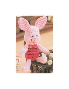 Disney Winnie the Pooh Friend Piglet Amigurumi by FunHandicraft, $2.99