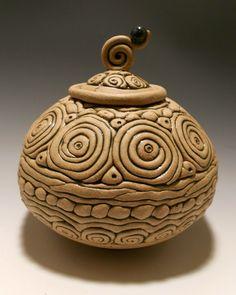 Jim Irvine, Mashpee, MA, United States Stoneware Pottery - Handbuilt Pottery.