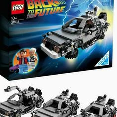 Buy the Lego DeLorean