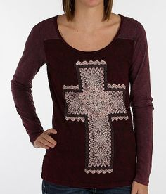 """Daytrip Cross T-Shirt"" www.buckle.com"