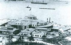 Before Ellis Island there was Castle Garden..New York  1855-1890. My husbands great, great grandfather, Carlo Spini, from Sondrio, Italy, made his way to the United States via, Castle Garden, New York. (1882).