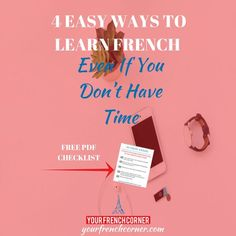 Learn French the Easy Way Learning People, Learning Cards, Ways Of Learning, Learning French, Learning Spanish, Learning Resources, Learn French Online, Learn To Speak French, Basic Grammar