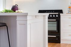 Hamptons Style Kitchen Design Rachel Doors for Paint. Joinery by Summit Kitchens. Painted Doors, Coastal Style, Kitchen Styling, Door Design, Joinery, The Hamptons, Tall Cabinet Storage, Kitchen Design, Kitchens