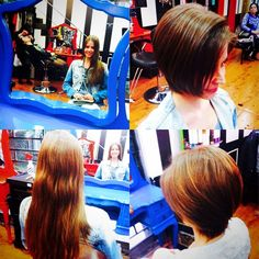 Antes e depois por Babi Carvalho #circushair #circusaugusta #cut #fashion #style