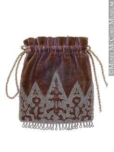 Bag  1890-1900, 19th century