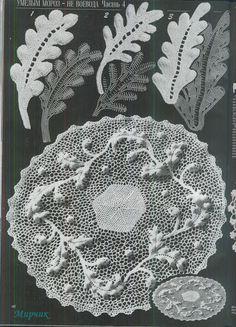 Orvieto Crochet Lace in Duplet magazine issue 107