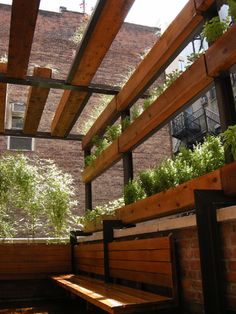 Urban Roof Deck by Douglas Fanning