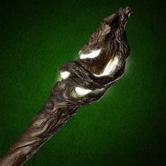Gandalf's staff.. too Cool, it really lights up.  Could make a make-shift one from wrapping paper tube and rolled paper then painted, yes?