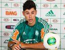 Apresentado, Rondinelly revela que Luxa o aconselhou a jogar pelo Palmeiras  © ALE FRATA/FRAME/AE