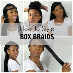 How To| Style BOX BRAIDS