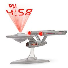 Star Trek Think Geek Enterprise Alarm Clock