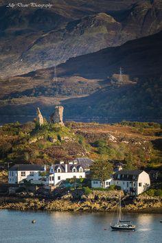 Kyleleakin, Isle of Skye & Castle Moil
