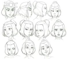 Avatar The Last Airbender Discover Suki Expressions Study by Nylak on DeviantArt Some people I know be haten on Suki and dont respect the fact that her and Sokka are happy together so they need to just butt out. I absolutely love her :)