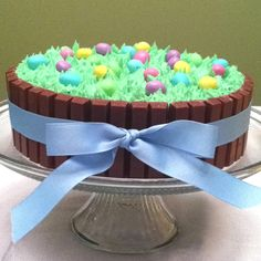 Easter kit-kat cake. love this gotta make it. since kit-kat is my favorite candy